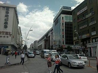 Eastern Anatolia Region - Image: Erzurum Cumhuriyet Caddesi 3