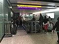Escalators to Arrivals, Baggage Reclaim, Flight Connections, All Terminals, A, B, C Gates. (27160552987).jpg