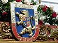 Escudo de la Ciudad Santiago de Arma de Rionegro.JPG