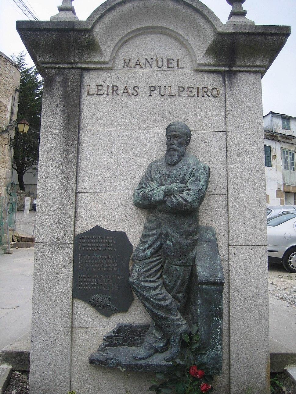 Escultura Manuel Leiras Pulpeiro, Mondoñedo