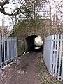 Essex Way, River Stour Estuary, Manningtree. Railway bridge of the Manningtree - Ipswich line. - panoramio (1).jpg