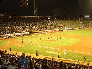 Español: estadio de beisbol de la ucv, caracas
