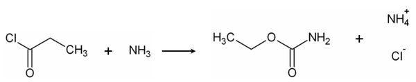 Synthese van ethylcarbamaat