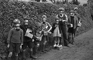 Evacuations of civilians in Britain during World War II - Evacuees in Montgomeryshire, 1939
