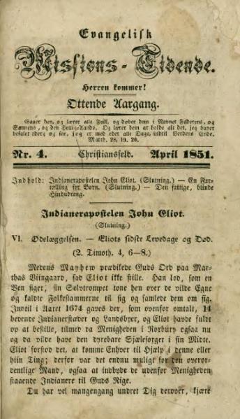 File:Evangelisk Missions-Tidende 1851(4).djvu