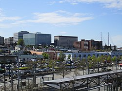Skyline of Everett, Washington