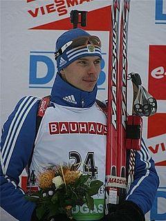 Evgeny Ustyugov Russian biathlete