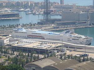 Excellent (ship, 1998) in Barcelona.JPG