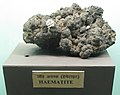 Exhibit of Haematite Ore at Regional Museum of Natural History,Bhopal,India.jpg