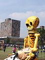 Exposición UNAM día de muertos.JPG