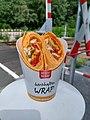Fürstenwalde, chicken Bombay wrap.jpg