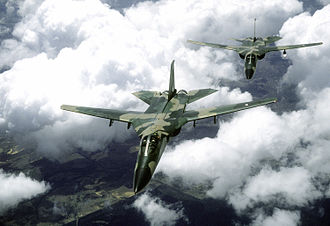 General Dynamics F-111C - Two RAAF F-111 aircraft during Exercise Kangaroo '81