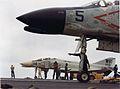 F-4B of VMF(AW)-513 on USS Constellation (CVA-64) in 1963.jpg