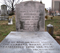F. Scott and Zelda Fitzgerald grave
