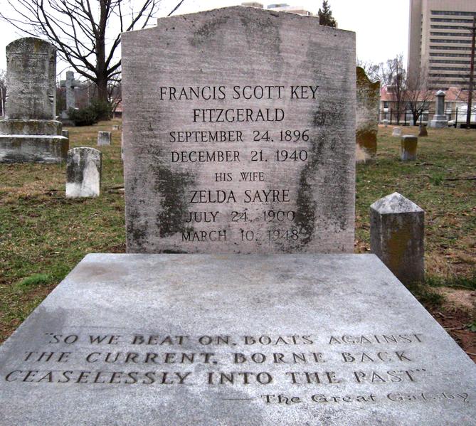 File:F. Scott and Zelda Fitzgerald grave.png
