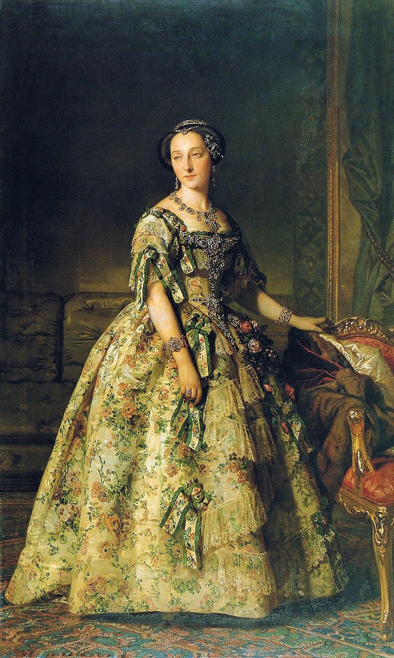 F. de Madrazo - 1851, Elena de Castellví y Shelly, Duquesa de Sevilla (Colección particular, Madrid, 205 x 122 cm).jpg