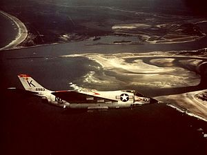 VFA-31 - VF-31 F3H-2N Demon in 1957.