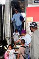 FEMA - 38173 - Hurricane Gustav evacuees return leaving a railroad car in New Orleans.jpg