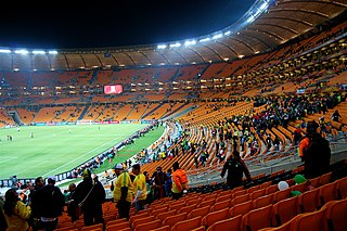 FNB Stadium stadium in Johannesburg, South Africa