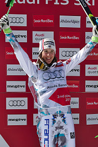 FIS Ski Cross World Cup 2015 Finals - Megève - 20150314 - Alizée Baron.jpg