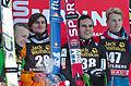 FIS Ski Jumping World Cup 2014 - Engelberg - 20141220 - Koudelka, Freitag, Damjan et Hayboeck.jpg