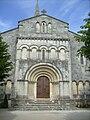 Façade de l'église Saint-Paulin de Saint-Ciers-sur-Gironde - panoramio.jpg