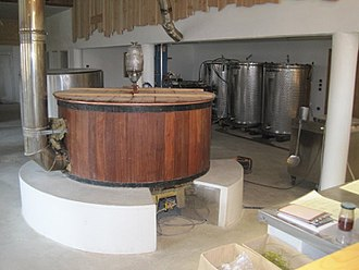Beer in France - Franche brewery, Jura.