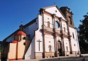 Michoacán - Basilica of Nuestra Señora de la Salud in Patzcuaro