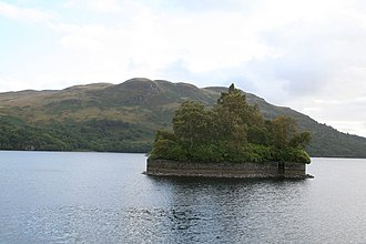 Rob Roy MacGregor - Factor's Island, Loch Katrine, where Rob Roy once imprisoned the Duke's  factor