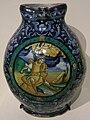 Faenza maiolica, brocca con decorazione a soggetto musicale, 1536.JPG