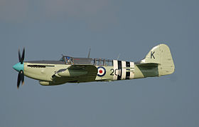 Un Fairey Firefly AS.Mk 6 versione antisommergibile