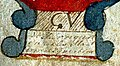 FamilyBible - hand-painted title page 3 - 1824 - detail.jpg