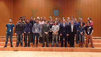 European Free Alliance Youth - EFAy General Assembly in 2014 in Compostela, Galicia
