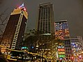 Farglory Financial Center and President International Tower 20130212 night.jpg