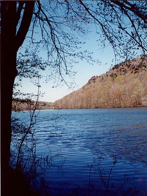 Farmington Mountain - Shoulder of Farmington Mountain from Farmington Reservoir