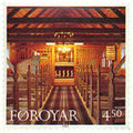 Faroe stamp 319 church of hvalvik - inside.jpg