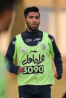 Farshid Esmaeili in Esteghlal training.jpg