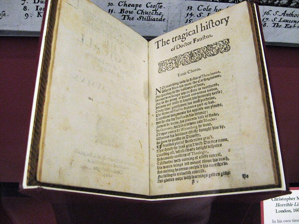 Faustus Manuscript in the Huntingdon Library