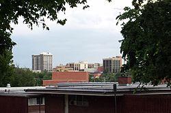 Fayetteville skyline