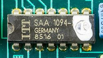 Ringtone - A tone ringer IC: ITT SAA 1094