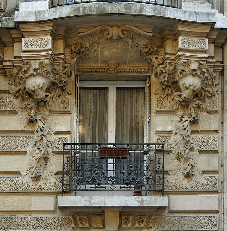 File fen tre villa lutetia 14 rue wikimedia commons for Fenetre villa
