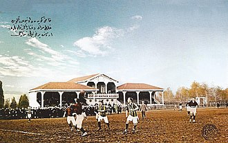 The Intercontinental Derby - Match at Union Club Field, 1913–1914.