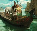 Ferdinand Leeke - Siegfried's Rhine Journey, 1908.jpg