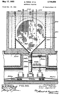 "An image from the Fermi-Szilárd ""neutronic reactor"" patent."