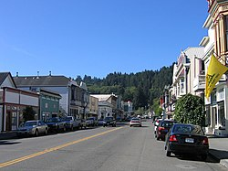 Main Street in Ferndale