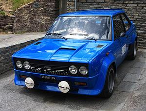 Fiat 131 - Fiat Abarth 131 Rally