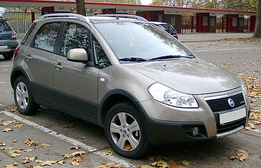Fiat Sedici front 20071108