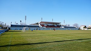 Field of Akita Municipal Yabase Football Stadium 20190114.jpg