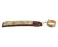 Fingerring av guld med intyg, 1700-tal - Hallwylska museet - 110318.tif