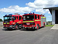 Fire Engines outside Skibbereen Fire Station - geograph.org.uk - 498352.jpg
